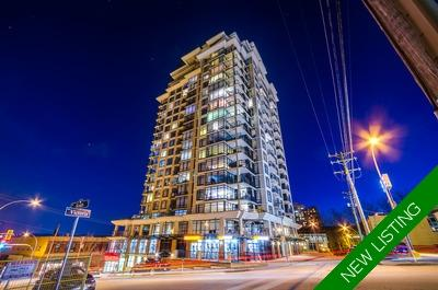 Downtown NW Condo for sale: The Point 1 bedroom, STUNNING Fraser River & City Views