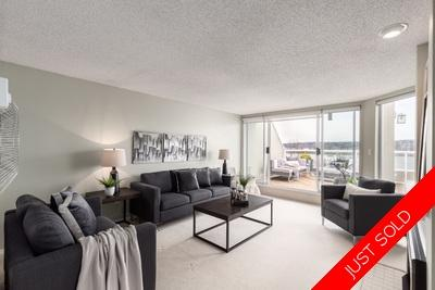 2 Level Penthouse Condo for sale at the Quay: Infinite view of the Fraser River! Quaywest 2 bedroom 1,127 sq.ft.
