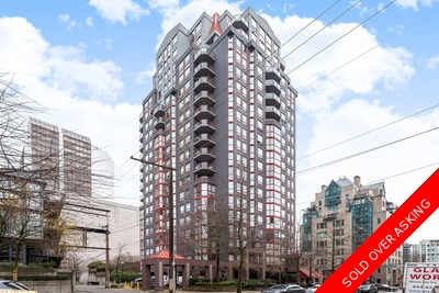 Downtown Vancouver West Apartment for sale: Imperial Tower 2 bedroom 792 sq.ft. (Listed 2016-03-02)
