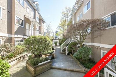 Collingwood Vancouver East Townhouse for sale: WELLINGTON COURT 2 bedroom 952 sq.ft. (Listed 2016-04-04)