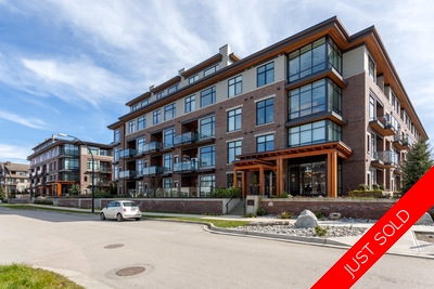 Queensborough Condo for sale: Portage at Aragon 3 bedroom with unobstructed Fraser River & Golden Ears Mountain View!