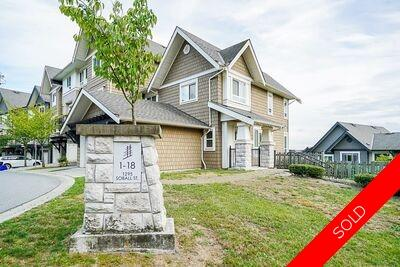 Burke Mountain Townhouse for sale: Tyneridge South 3 bedroom 1,454 sq.ft. (Listed 2020-10-13)